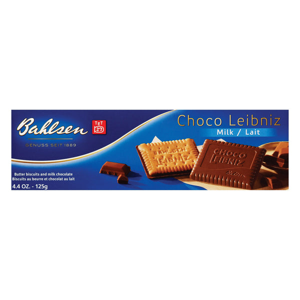 Bahlsen Leibniz Milk Chocolate Cookies - 4.4 oz.