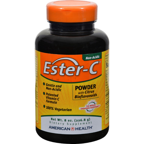 American Health Ester-C Powder with Citrus Bioflavonoids - 8 oz
