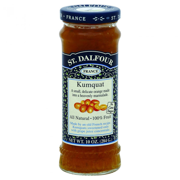 St Dalfour Fruit Spread - Deluxe - 100 Percent Fruit - Kumquat - 10 oz - Case of 6