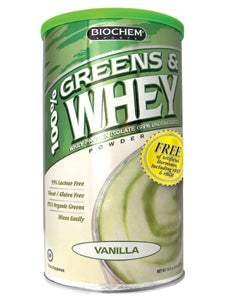 100% Greens & Whey Powder Van 10.3 oz