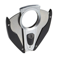 Lotus Fury Cigar Cutter Chrome & Black - Brigham & More