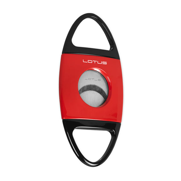 Lotus Jaws Cigar Cutter Red & Black - Brigham & More