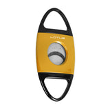 Lotus Jaws Cigar Cutter Yellow & Black - Brigham & More