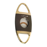 Lotus Jaws Cigar Cutter Brown & Gold - Brigham & More