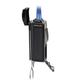 Black Label Dominator Table Lighter Chrome Matte - Brigham & More
