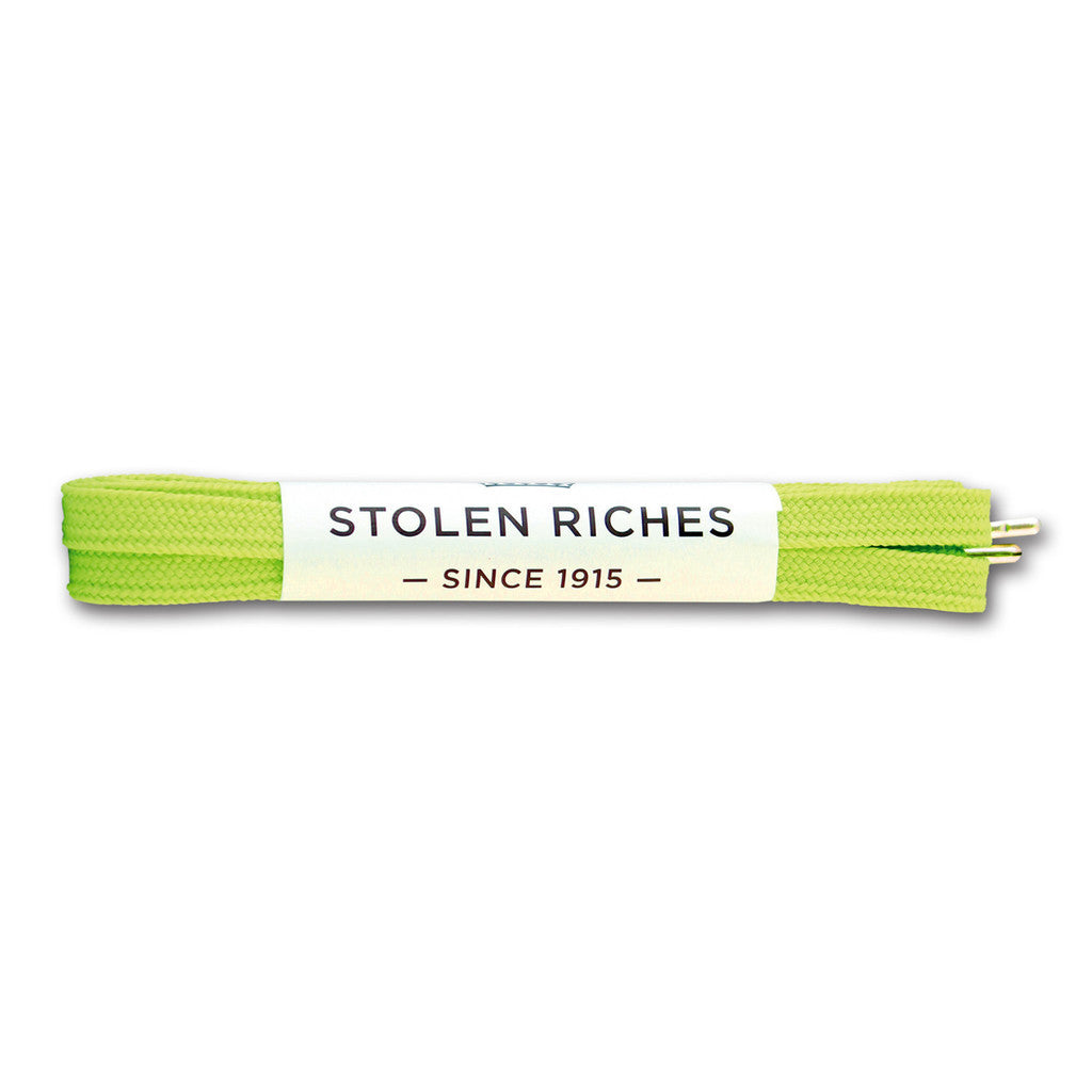 Stolen Riches Sneaker Laces - Avalon Green