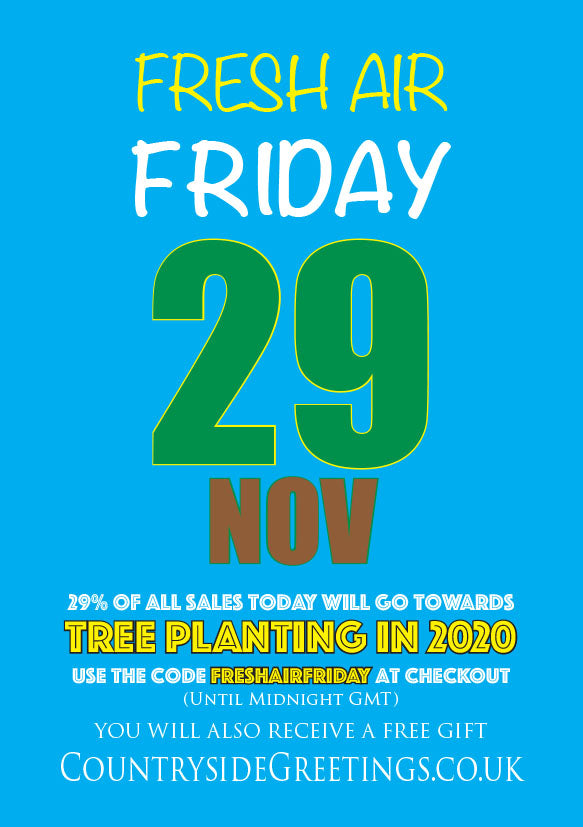 Fresh Air Friday - Tree Planting