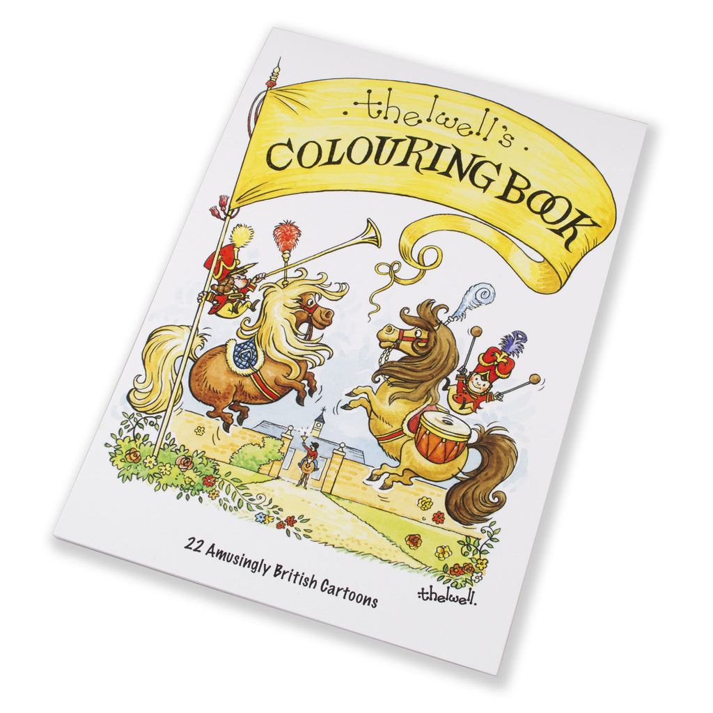 New Thelwell Colouring Book just launched