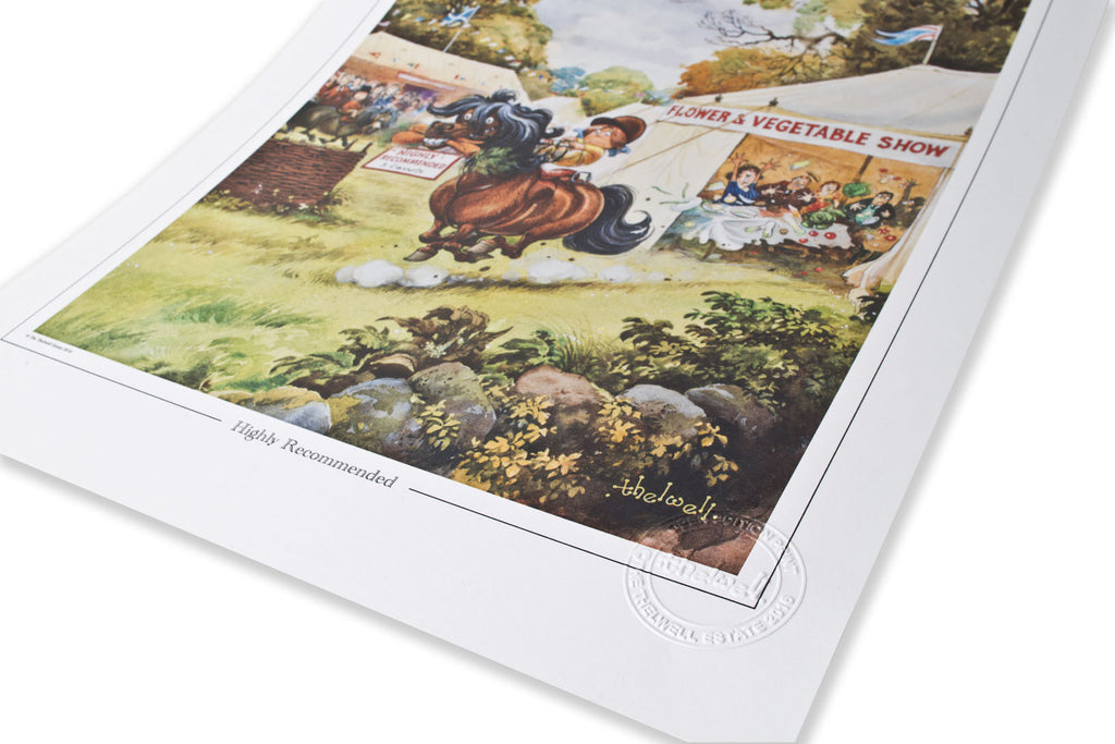 Newly launched open edition Thelwell prints