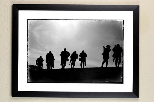 """The Shooting Party"" signed limited edition photographic shooting print by Charles Sainsbury-Plaice"