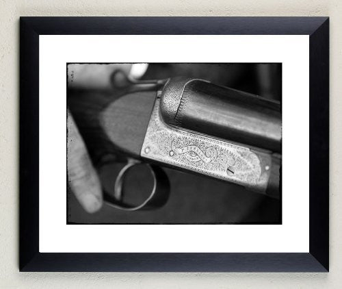 """Frederick Beesley"" signed limited edition photographic shotgun print by Charles Sainsbury-Plaice"