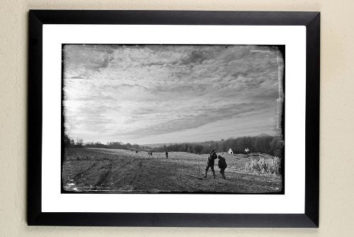"""Brimpsfield Park"" signed limited edition photographic shooting print by Charles Sainsbury-Plaice"