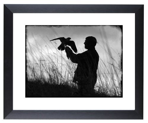 """The Falconer"" signed limited edition photographic print by Charles Sainsbury-Plaice"