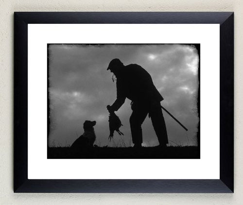 """The Picker Up"" signed limited edition photographic shooting print by Charles Sainsbury-Plaice"