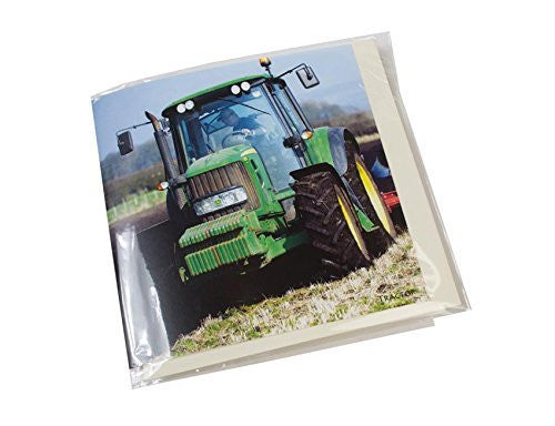 Tractor greeting card with sound inside.