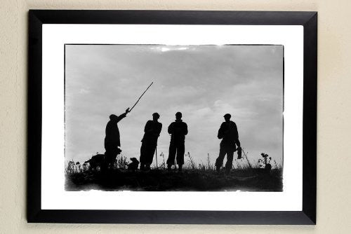 """The Next Drive"" signed limited edition photographic shooting print by Charles Sainsbury-Plaice"