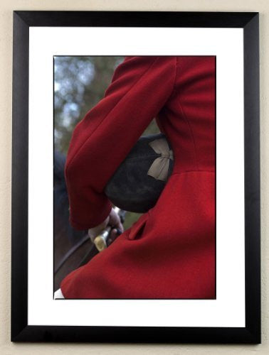 """Respect"" signed limited edition photographic hunting print by Charles Sainsbury-Plaice"