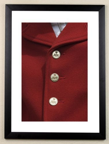 """Hunt Buttons"" signed limited edition photographic hunting print by Charles Sainsbury-Plaice"