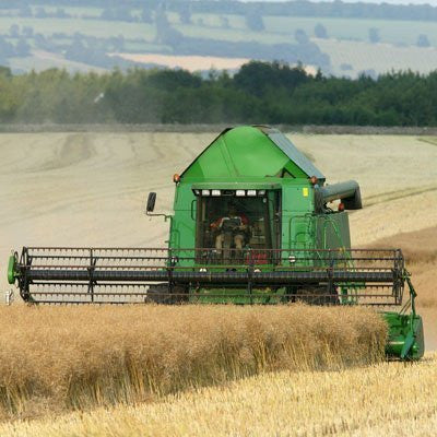 Combine Harvester Greeting Card with Sound