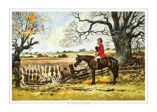 The Master of Foxhounds by Norman Thelwell. Collector's print. Copied from ...