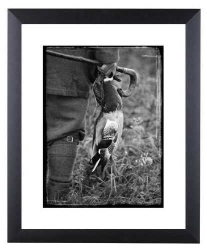 Duck & Snipe signed limited edition photographic game shooting print by Charles Sainsbury-Plaice