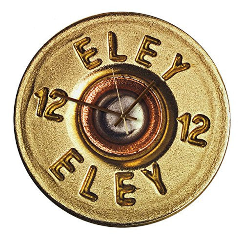 Eley Cartridge Clock - large 400mm wall clock. Shooting gift