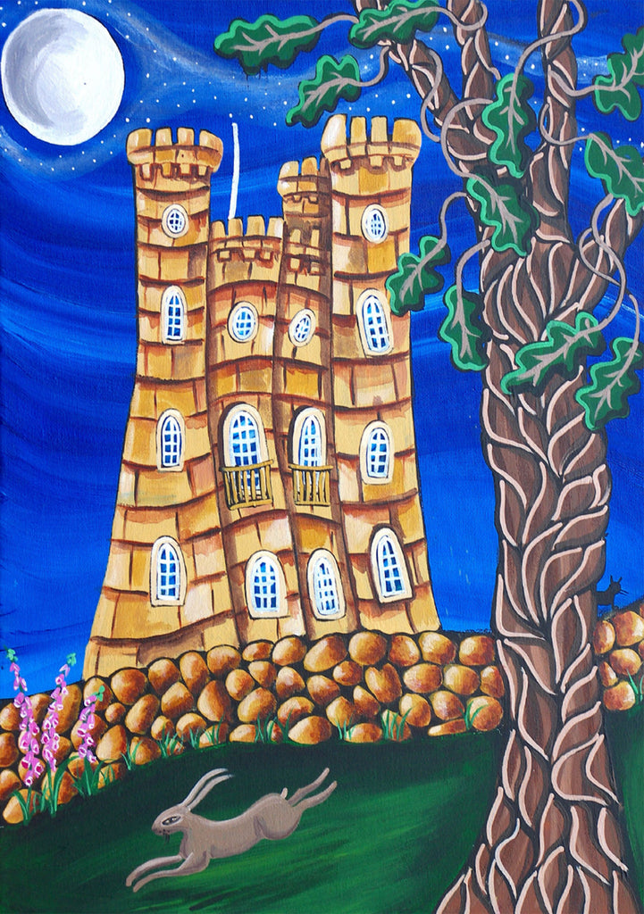 Cotswolds Greeting Card. Broadway Tower by AK Skipsey