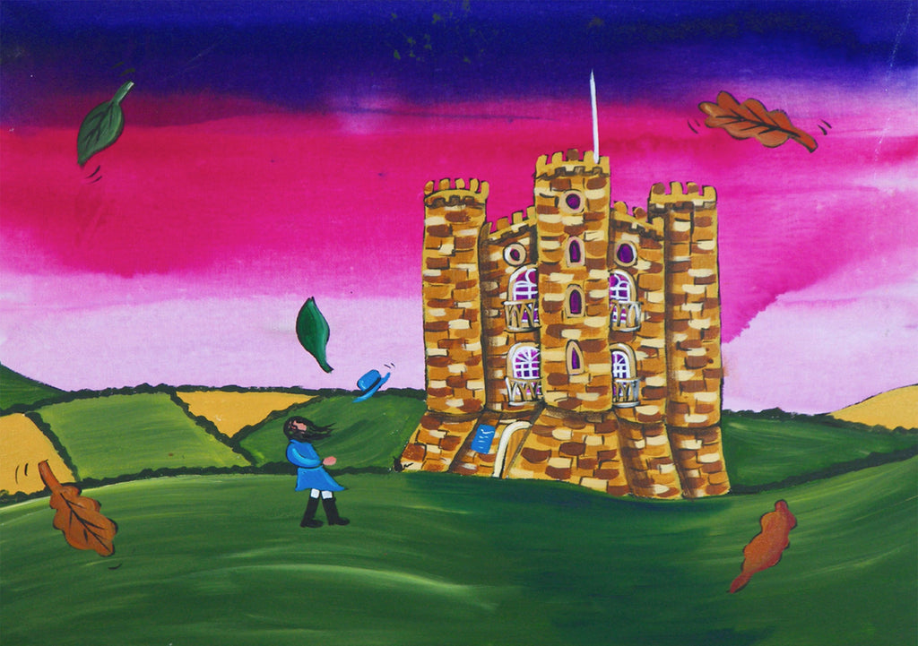 Cotswolds Greeting Card. Broadway Tower in Autumn by AK Skipsey