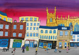 Cirencester Greeting Card by Amanda Skipsey. Classic Cotswolds