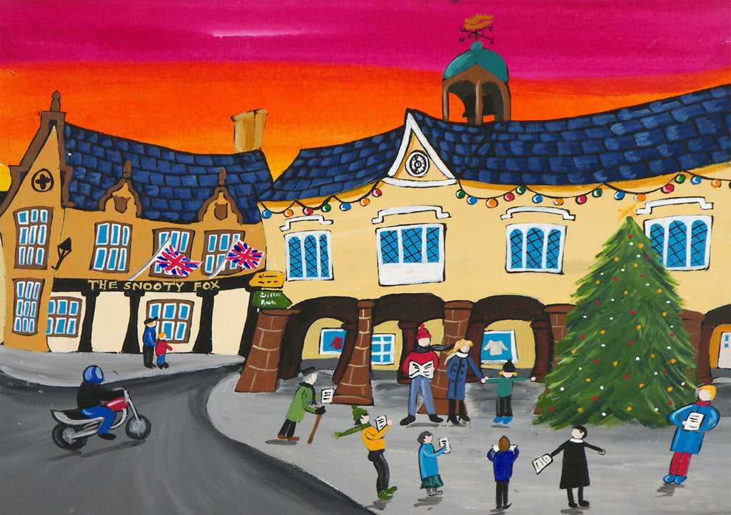 Cotswolds Greeting Card. Tetbury by AK Skipsey