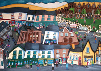 Hay on Wye Greeting Card by Amanda Skipsey