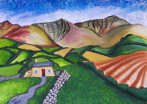 Brecon Beacons Greeting Card. A Safe Haven