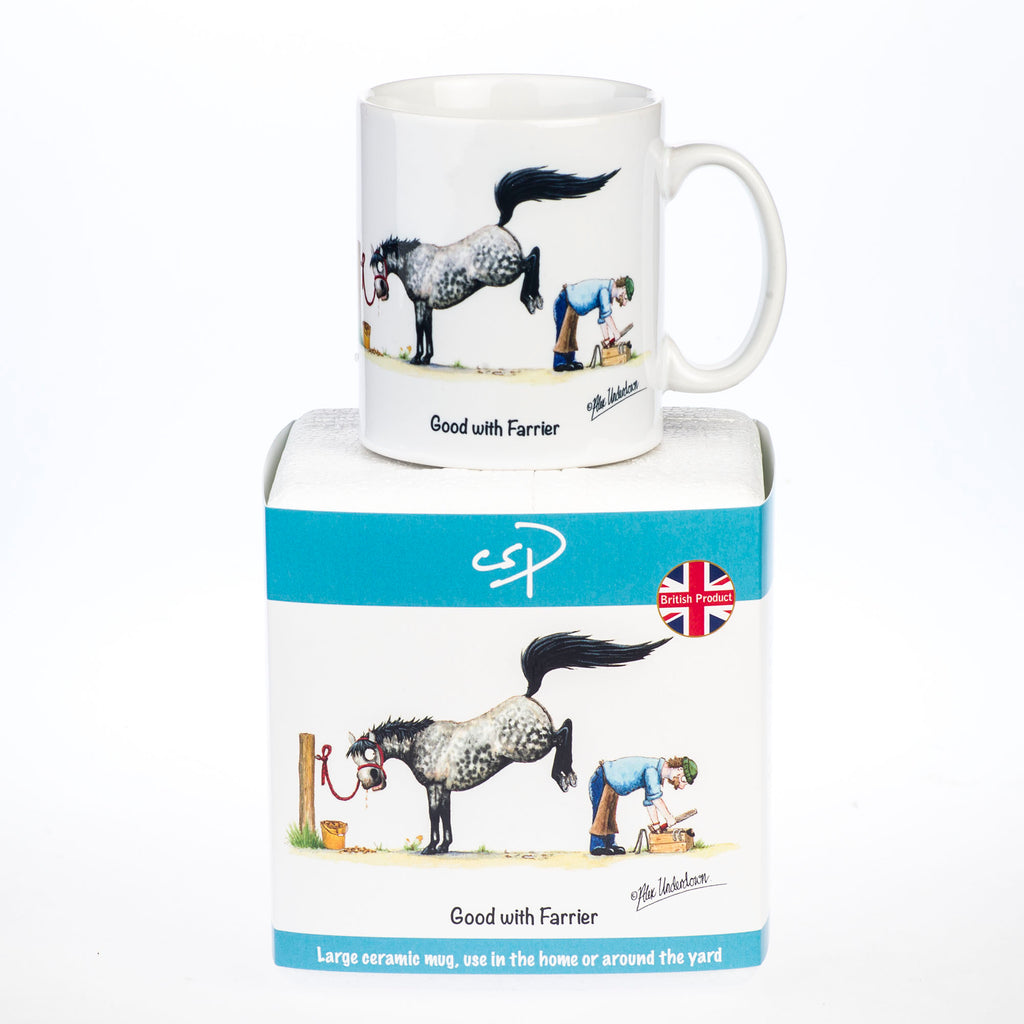 Horse mug. Good with farrier by Alex Underdown