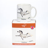 Horse mug. Flashy Mover by Alex Underdown