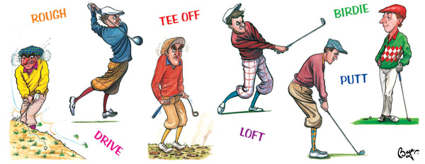 Golf Mug. Golfing Terms by Bryn Parry