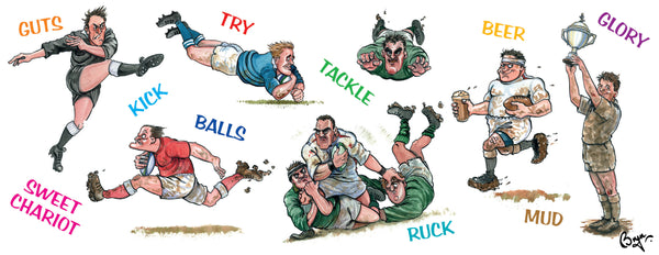 Rugby Mug. Rugby Terms by Bryn Parry