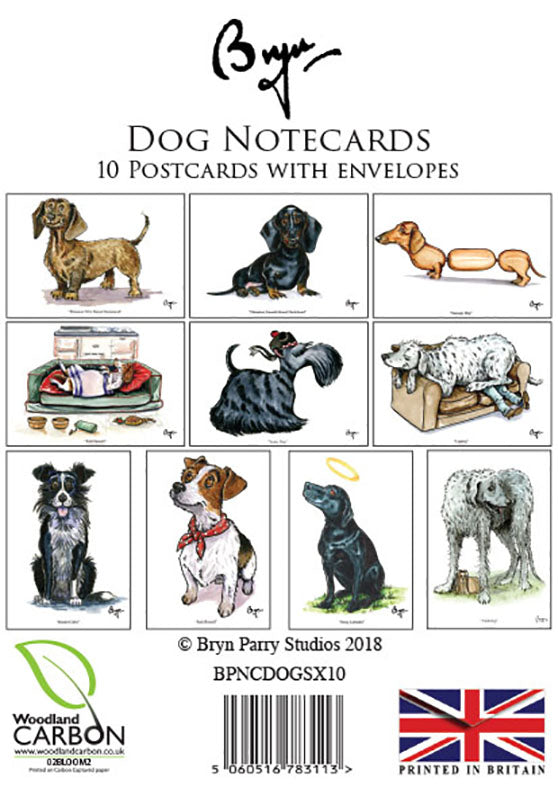 Fun Dog Notecards by Bryn Parry