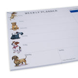 Small Dogs Weekly Planner by Bryn Parry