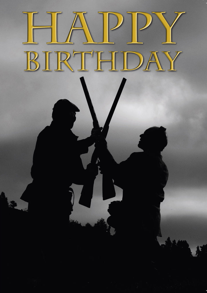 Shooting Birthday Card by Charles Sainsbury-Plaice