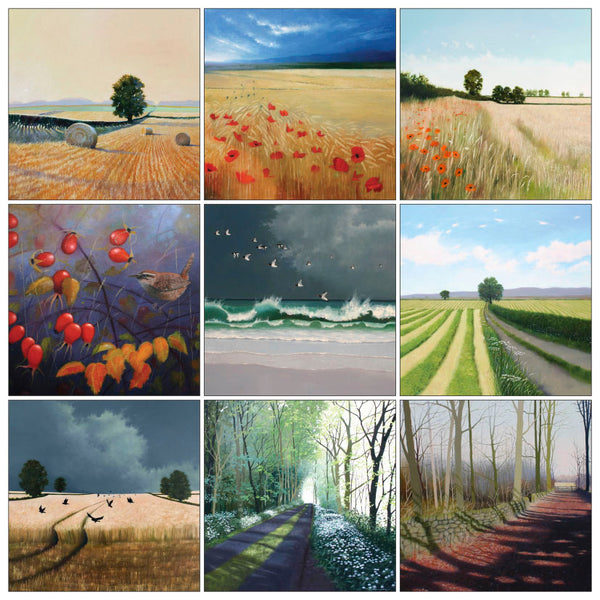 Landscape Art Greeting Card Multipack by Heather Blanchard