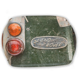 "Melamine Serving Tray. ""Old Land Rover"" by Charles Sainsbury-Plaice"