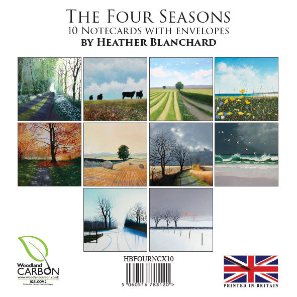The Four Seasons Notecard Pack by Heather Blanchard