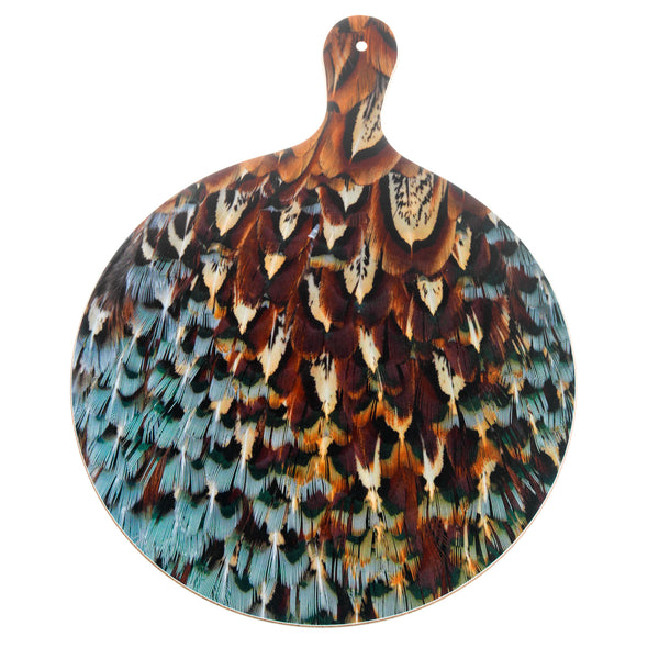 Pheasant Plumage style Chopping or Cheese Board