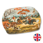 "Melamine Serving Tray. ""In Full Cry"" by Norman Thelwell"