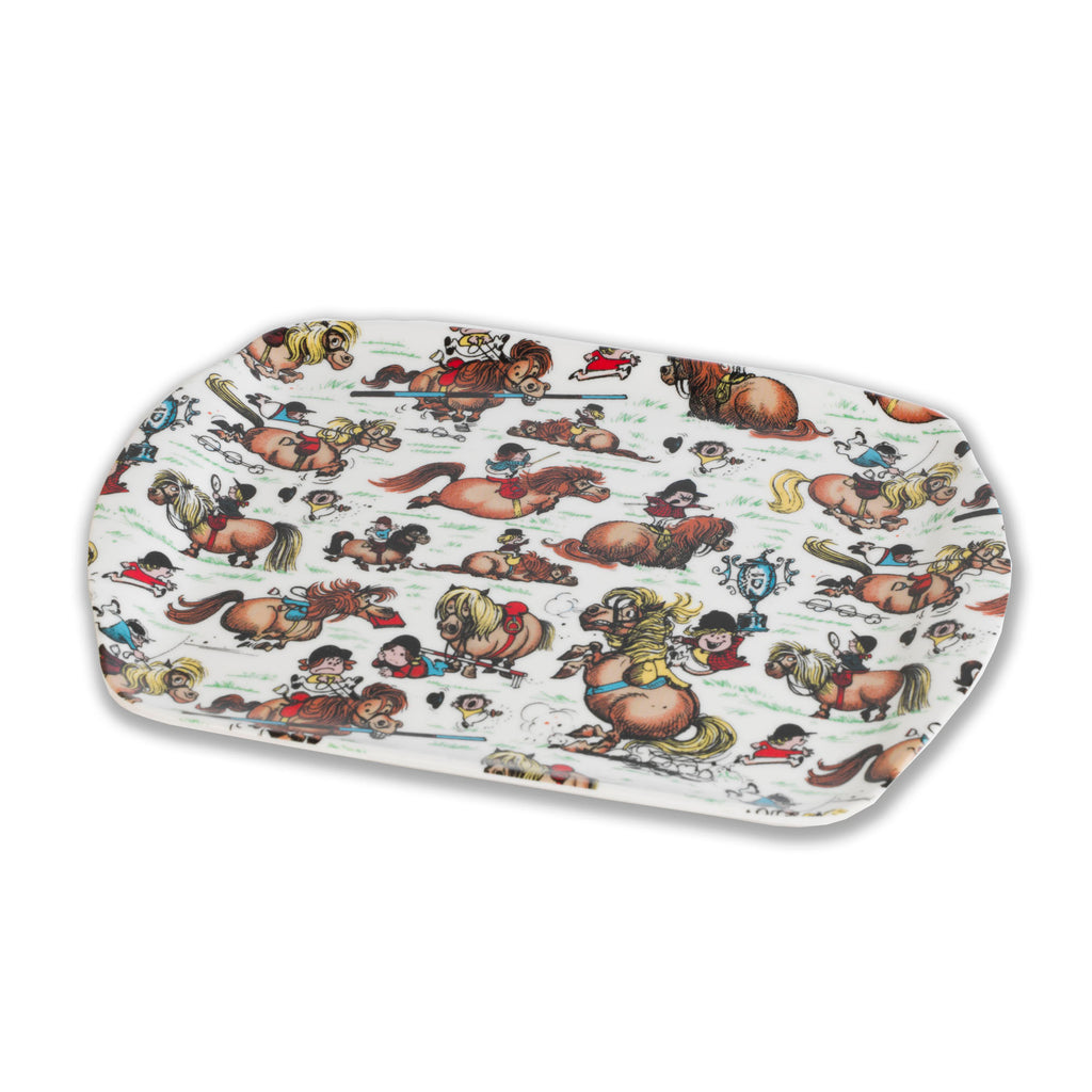Thelwell pony scatter dish or small tray