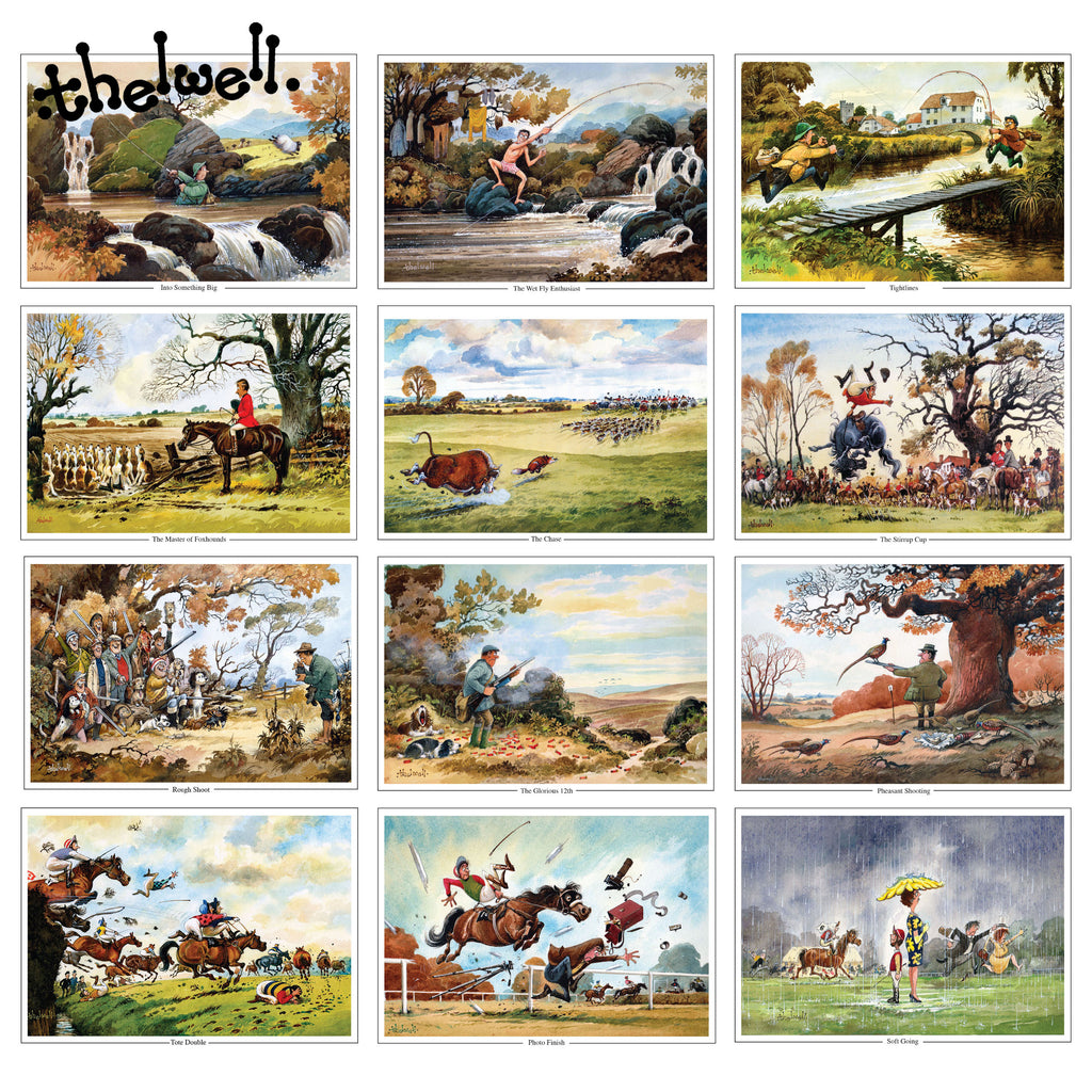 Thelwells Sporting Prints Greeting Card Pack