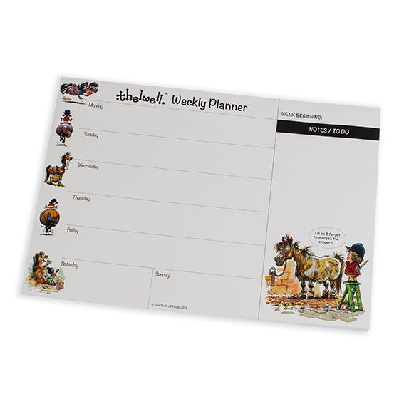 Ponies Weekly Planner by Thelwell