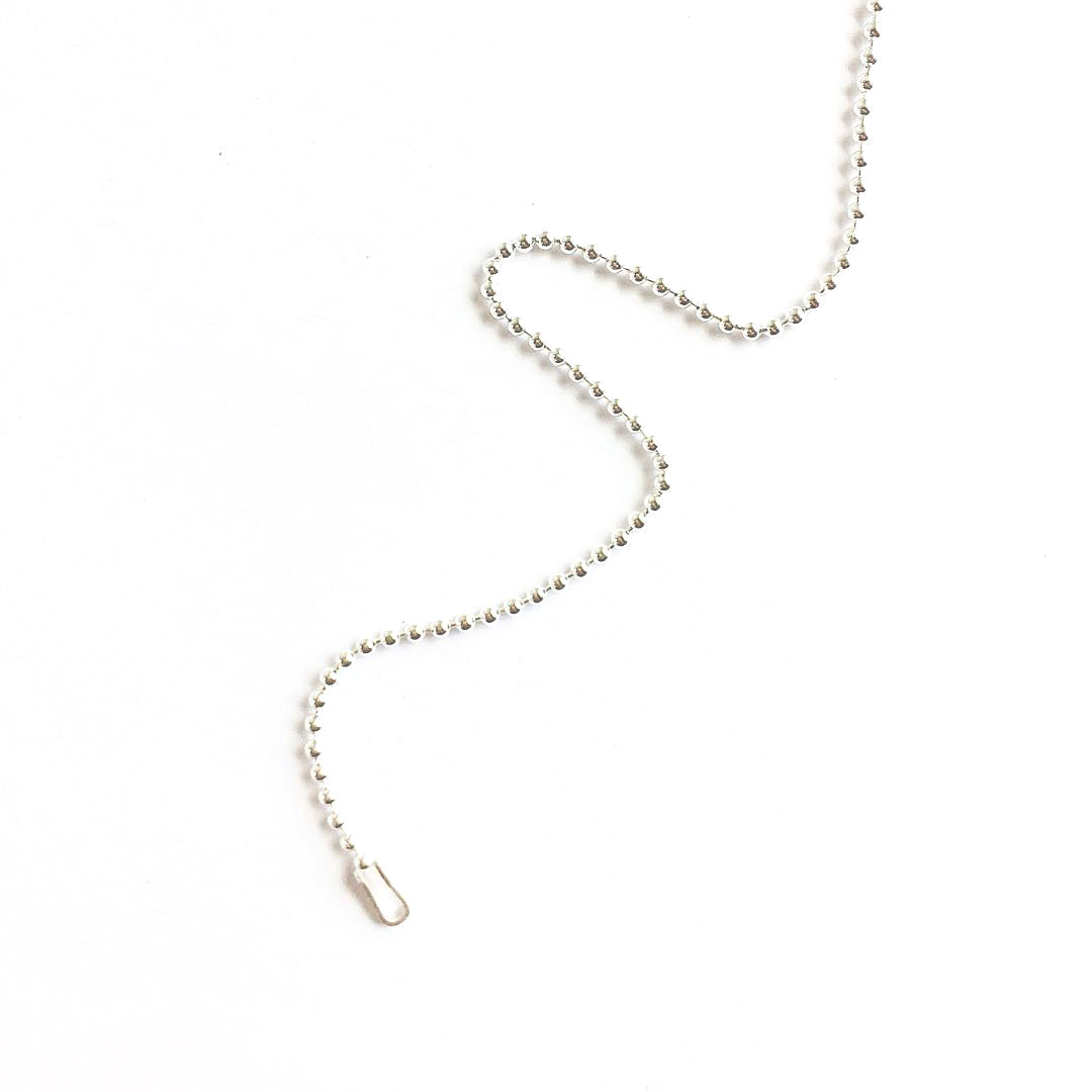 Ball Chain (Sterling Silver)