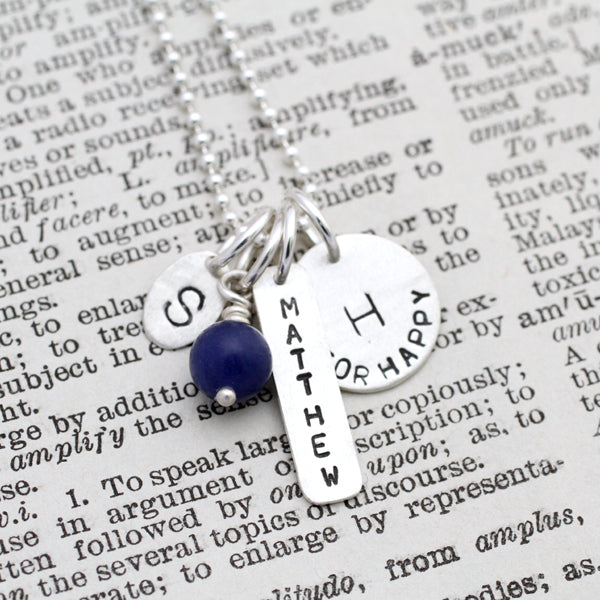 Gemstone/Birthstone Charm