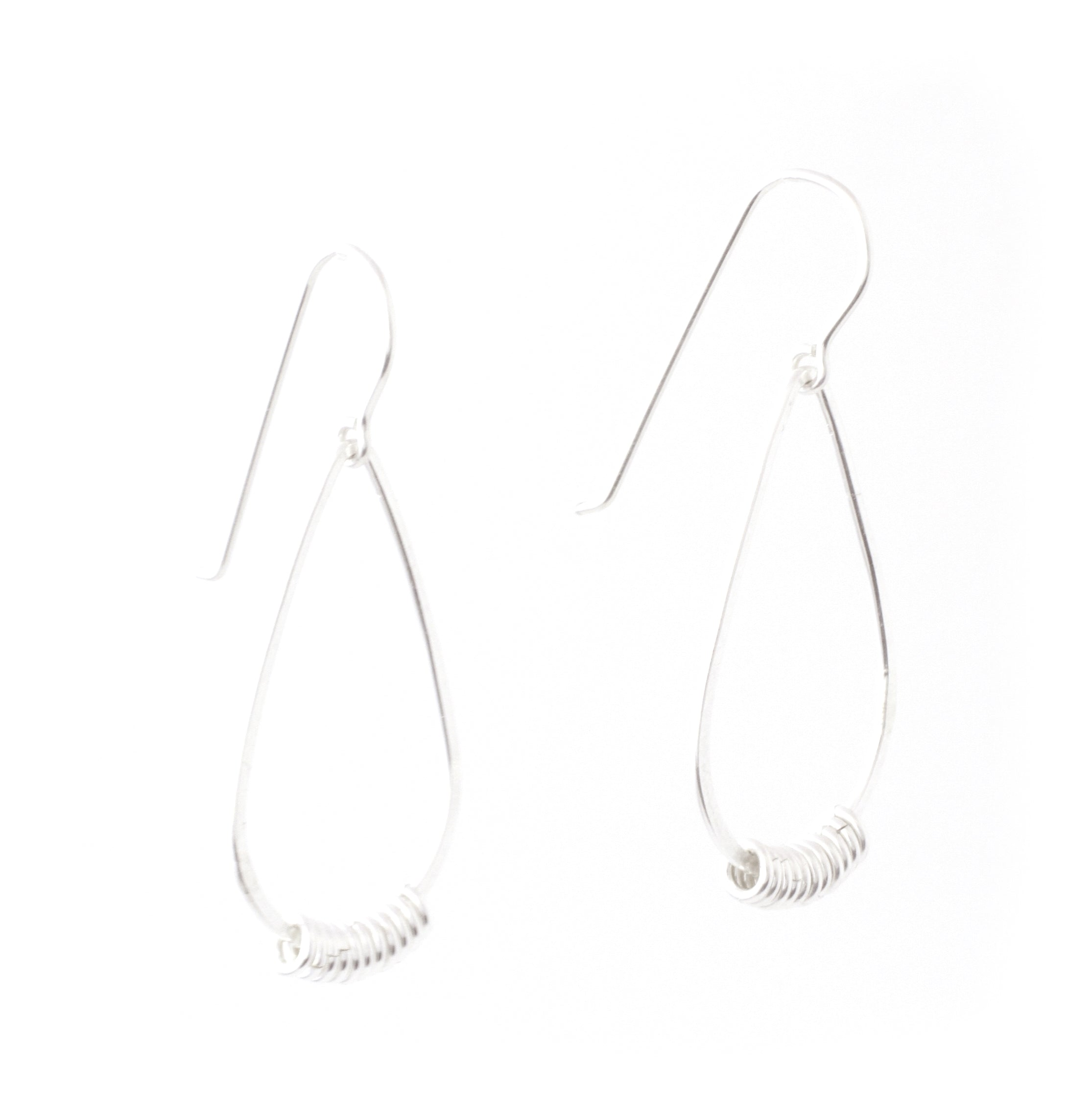 Suspended Earrings (Sterling Silver)
